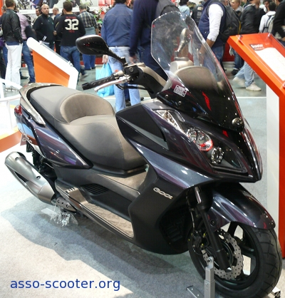 eicma 2009 kymco asso scooter. Black Bedroom Furniture Sets. Home Design Ideas