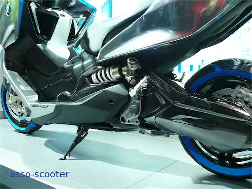 Eicma 2010 : Bmw scooter Concept C | Asso-scooter