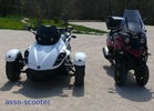 Scooters trois roues : Piaggio - Bombardier, le match Mp3-Fuoco-Spyder