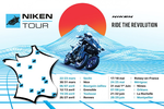 Niken Tour : 12 dates à retenir