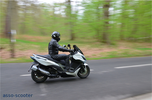 Kymco Xciting 400 i : 300€ carburant