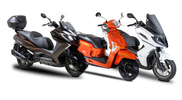 Kymco : 3 scooters, 3 styles