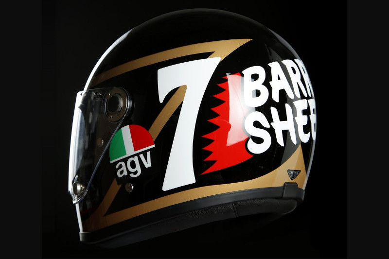 AGV X3000 : déco Legends