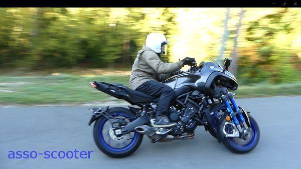 Essai Yamaha Niken 3 Roues Dexception Et Sauvage Asso Scooter