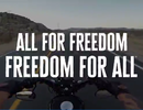 "Harley-Davidson : ""All for Freedom, Freedom for All"""