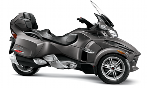 Can Am Spyder RT Limited : droit